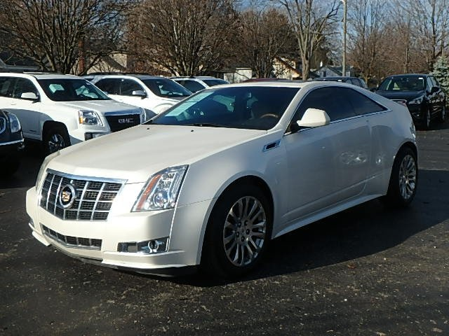 Pre Owned 2012 Cadillac Cts Premium 2d Coupe In Detroit Area