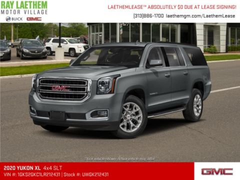 New 2020 GMC Yukon XL SLT