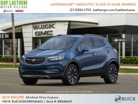 New 2019 Buick Encore Essence